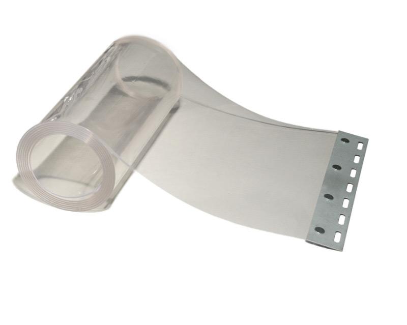 Breite//Höhe Streifenvorhang Weich PVC 2,50 m x 4,00 m   300 x 3 mm